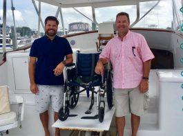 boating, fishing, wheelchair boat, boat