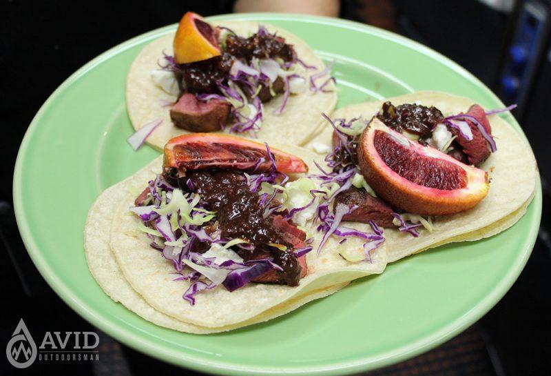camping, camping recipes, duck tacos, wild game recipes