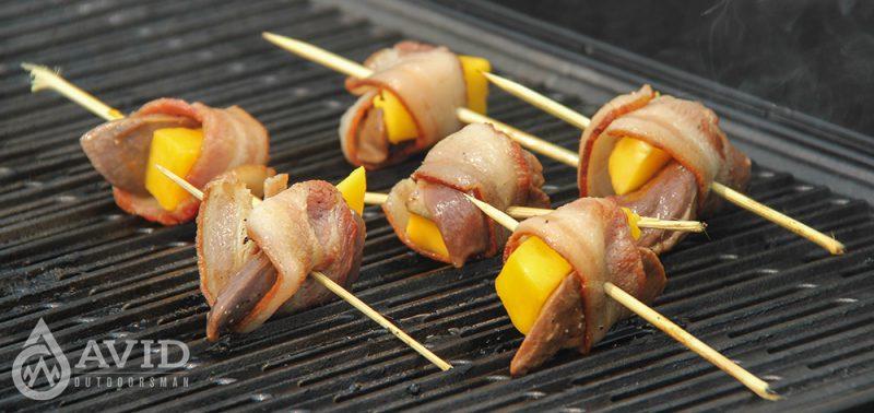 camping, wild game recipes, bacon, pheasant