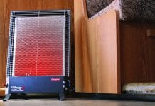 portable heaters, heater, rv, camping, camper