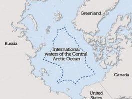 arctic ocean, fishing, international fishing agreement