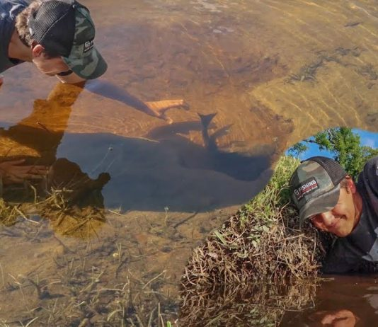 hand fishing
